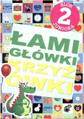 Łamigłówki. Krzyżówki. Blok juniora 2 - Krzysztof Wisniewski   mała okładka