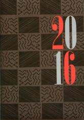 Kalendarz 2016. Agenda, B5, oprawa papierowa - Opracowanie zbiorowe | mała okładka