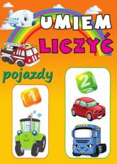 Umiem liczyć Pojazdy - Anna Wiśniewska   mała okładka
