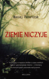 Ziemie niczyje - Maciej Paterczyk | mała okładka