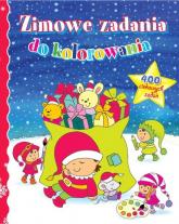 Zimowe zadania do kolorowania - Wiśniewska Anna, Wiśniewski Krzysztof | mała okładka
