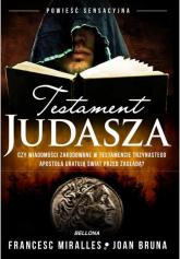 Testament Judasza - Francesc Miralles | mała okładka