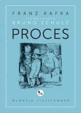 Proces wydanie ilustrowane - Franz Kafka | mała okładka