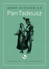 Pan Tadeusz wydanie ilustrowane - Adam Mickiewicz | mała okładka