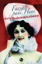 Farsa pani Heni - Maria Rodziewiczówna | mała okładka