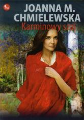 Karminowy szal - Joanna M. Chmielewska  | mała okładka