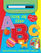 Jakie to łatwe. Uczę się liter ABC - praca zbiorowa | mała okładka