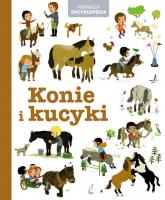Pierwsza Encyklopedia. Konie i kucyki -    mała okładka