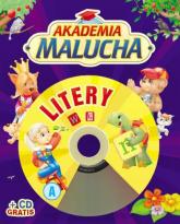 Akademia malucha. Litery z płytą CD - Urszula Kozłowska | mała okładka