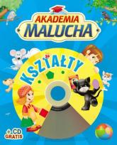 Akademia malucha. Kształty z płytą CD - Urszula Kozłowska | mała okładka