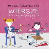 Wiersze dla najmłodszych - Wanda Chotomska | mała okładka