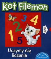 Kot Filemon. Uczymy się liczenia - Urszula Kozłowska | mała okładka