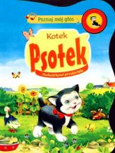 Poznaj mój głos. Kotek Psotek. Podwórkowi przyjaciele - Opracowanie zbiorowe | mała okładka