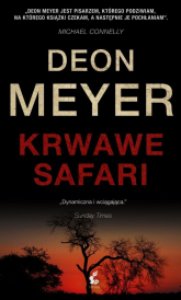 Krwawe safari - Deon Meyer | mała okładka