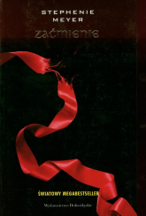 Zaćmienie - Stephenie Meyer | mała okładka