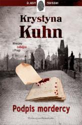 Podpis mordercy - Krystyna Kuhn | mała okładka
