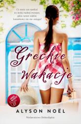 Greckie wakacje - Alyson Noel | mała okładka