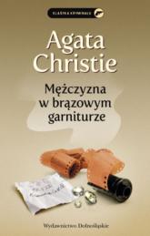 Mężczyzna w brązowym garniturze - Agata Christie | mała okładka