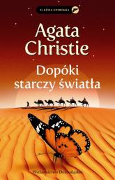 Dopóki starczy światła - Agata Christie   mała okładka