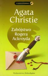 Zabójstwo Rogera Ackroyda - Agata Christie | mała okładka