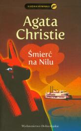 Śmierć na Nilu - Agatha Christie | mała okładka