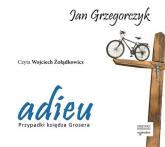Adieu. Przypadki księdza Grosera - Jan Grzegorczyk | mała okładka