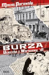 Burza. Ucieczka z Warszawy '40 - Maciej Parowski | mała okładka