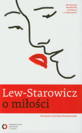 Lew-Starowicz o miłości rozmawia Krystyna Romanowska - Zbigniew Lew-Starowicz | mała okładka