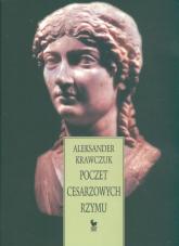 Poczet cesarzowych Rzymu - Aleksander Krawczuk | mała okładka