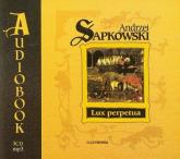 Lux perpetua - Andrzej Sapkowski | mała okładka