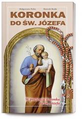 Koronka do Św. Józefa + różaniec - Pabis Małgorzata, Bejda Henryk   mała okładka