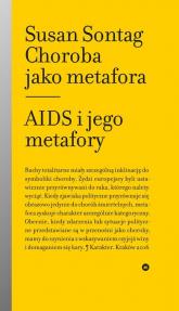 Choroba jako metafora Aids i jego metafory - Susan Sontag | mała okładka