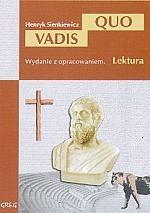 Quo Vadis z opracowaniem - Henryk Sienkiewicz | mała okładka
