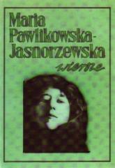 Wiersze - Maria Pawlikowska-Jasnorzewska   mała okładka
