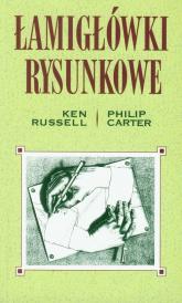 Łamigłówki rysunkowe - Russell Ken, Carter Philip | mała okładka