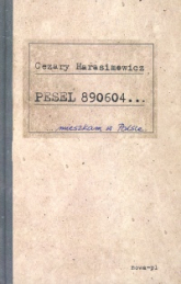 Pesel 890604 - Cezary Harasimowicz | mała okładka