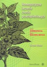Homeopatyczne leczenie chorób przeziębieniowych - Janusz Bielec | mała okładka