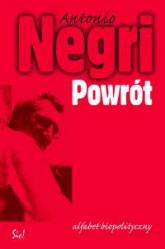 Powrót Alfabet biopolityczny - Antonio Negri | mała okładka