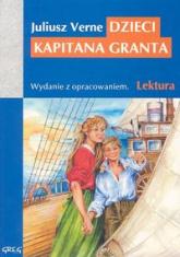 Dzieci kapitana Granta Wydanie z opracowaniem - Juliusz Verne | mała okładka
