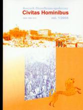 Rocznik filozoficzno społeczny Civitas Hominib 1/2006 -  | mała okładka