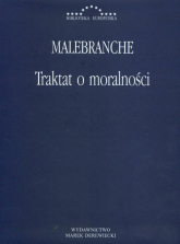 Traktat o moralności - Nicolas Malebranche | mała okładka
