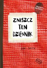 Zniszcz ten dziennik czerwony Edycja rozszerzona - Keri Smith | mała okładka