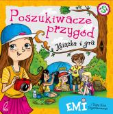 Emi i Tajny Klub Superdziewczyn Poszukiwacze przygód Książka i gra - Agnieszka Mielech | mała okładka