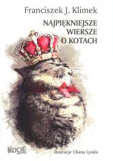 Najpiękniejsze wiersze o kotach - Klimek Franciszek J. | mała okładka