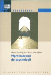 Krótkie wykłady z psychologii Wprowadzenie do psychologii - Alison Wadeley | mała okładka