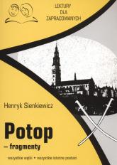 Potop fragmenty Lektury dla zapracowanych wszystkie wątki wszystkie istotne postacie - henryk Sienkiewicz | mała okładka