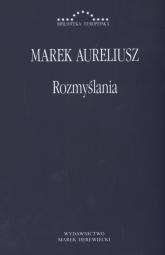 Rozmyślania - Marek Aureliusz | mała okładka