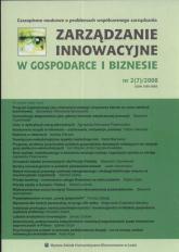 Zarządzanie innowacyjne w gospodarce i biznesie nr2/2008 -  | mała okładka