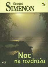 Noc na rozdrożu - Georges Simenon | mała okładka