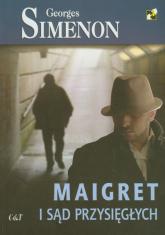 Maigret i sąd przysięgłych - Georges Simenon | mała okładka